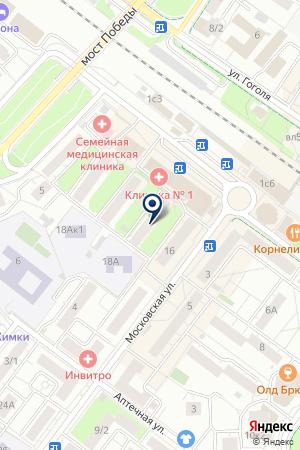 СТРОИТЕЛЬНАЯ ОРГАНИЗАЦИЯ УКС-1 на карте Химок