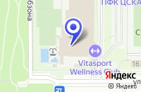 Схема проезда до компании ДЕТСКАЯ МЕЖДУНАРОДНАЯ АКАДЕМИЯ ТЕННИСА ВАЛЕРИ в Москве