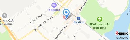TAXI 9898 на карте Химок