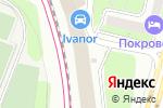Схема проезда до компании Vianor в Москве