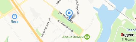 Центральная детская школа искусств на карте Химок