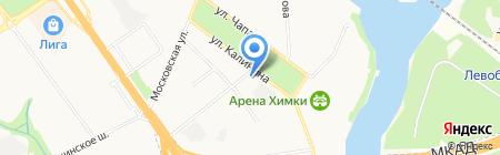Мировые судьи Химкинского района на карте Химок