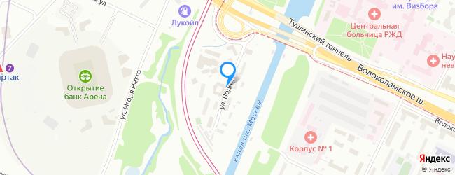 улица Водников