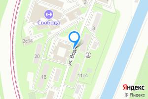 Сдается комната в двухкомнатной квартире в Москве м. Спартак, улица Водников