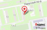 Схема проезда до компании Арт-Гильдия в Москве