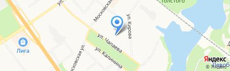 Военная прокуратура Солнечногорского гарнизона на карте Химок