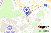 Схема проезда до компании ТФ ВЕНТМАШ в Москве