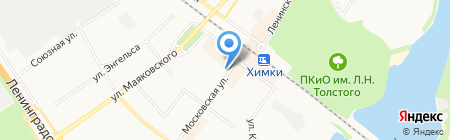 Комитет по управлению имуществом на карте Химок