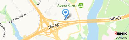 Баутех на карте Химок