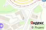 Схема проезда до компании АвтоМикс в Москве