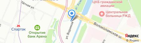 Адвокаты-помогут.рф на карте Москвы
