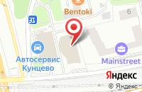 Схема проезда до компании Русская Консалтинговая Группа в Москве