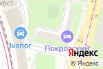 Схема проезда до компании Магия Селены в Москве