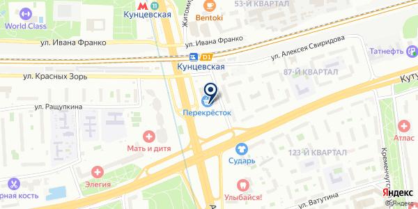 Техосмотр-МСК на карте Москве