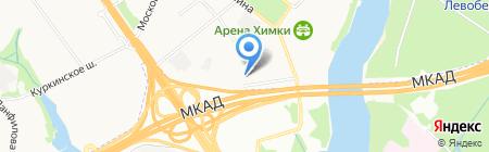 Спасение на карте Химок