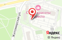 Схема проезда до компании Винэс в Москве