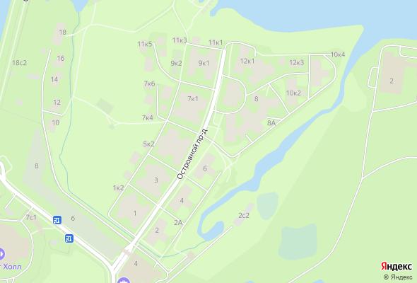 жилой комплекс Остров Фантазий