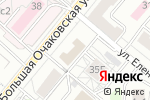 Схема проезда до компании Очаковские бани в Москве