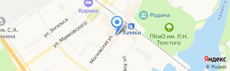 Лето Банк на карте Химок