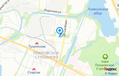 Местоположение на карте пункта техосмотра по адресу г Москва, ул Циолковского, д 3 стр 3