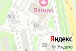 Схема проезда до компании Экопроект в Москве