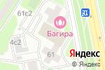 Схема проезда до компании WebBooster в Москве