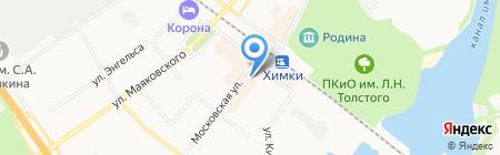 АКБ Банк Москвы на карте Химок