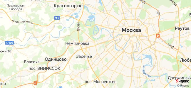 Звенигород - Дмитров электричка в Голицыно