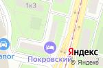 Схема проезда до компании Геофининвест в Москве
