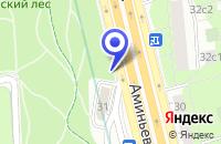 Схема проезда до компании АЗС ГРИНЭРДЖИ-М в Москве