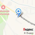Перекрёсток на карте Ленинского