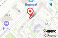 Схема проезда до компании Арус в Москве