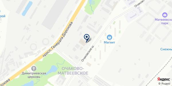 SNB на карте Москве