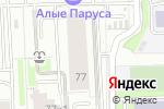 Схема проезда до компании Все Для Парикмахерских в Москве