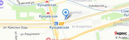 МаксДекор на карте Москвы