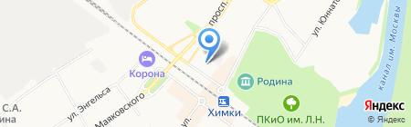 Оперативно-розыскная часть Отдела уголовного розыска Управления МВД России по г. Химки на карте Химок