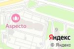 Схема проезда до компании Шоколад в Москве