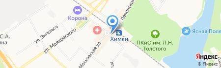 Милавица на карте Химок