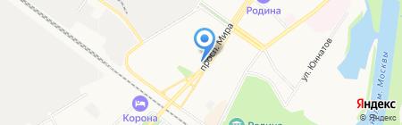 Салон для Новобрачных на карте Химок