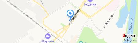 Мастерская по ремонту обуви на проспекте Мира на карте Химок