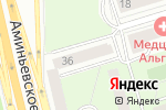 Схема проезда до компании WomenMassage в Москве