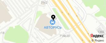 Московский Автомобильный Дом на карте Москвы