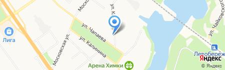 Фаворит К на карте Химок