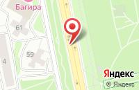 Схема проезда до компании Много Мебели в Ялуторовске