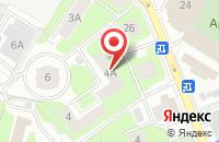 Схема проезда до компании ТехноСтрой в Химках