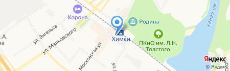 МОНЕТНЫЙ ДВОР на карте Химок