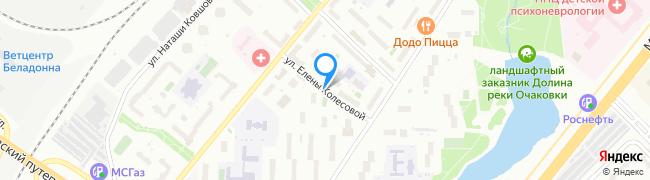 улица Елены Колесовой