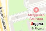 Схема проезда до компании Государственная автошкола при Академии президента РФ в Москве