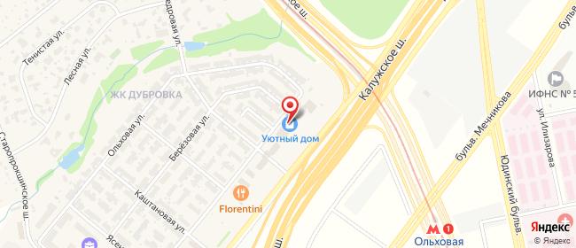 Карта расположения пункта доставки Пункт выдачи в городе Сосенки