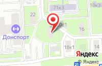 Схема проезда до компании Рекламно-Производственная Компания Песка в Москве